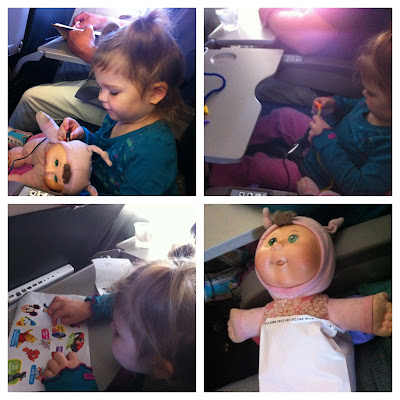 toddler airplane ride www.thebrighterwriter.blogspot.com