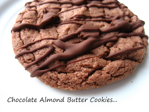 : Chocolate Almond Butter( or Nutella) Cookies with Chocolate Glaze ...