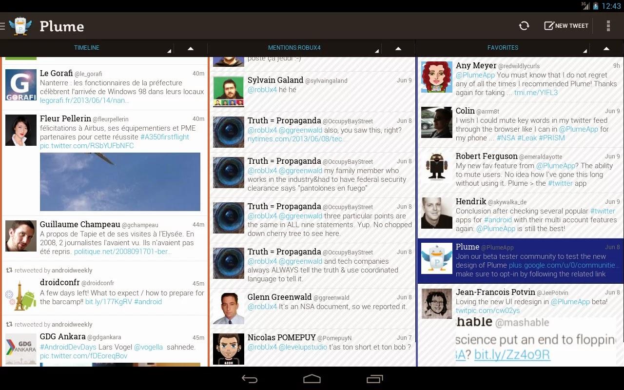 Plume for Twitter v5.58 + Plume Premium for Twitter v1.0.2