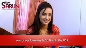 *Sanaya Irani's message to me*