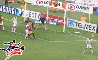 Resultado partido Tolima vs Chico