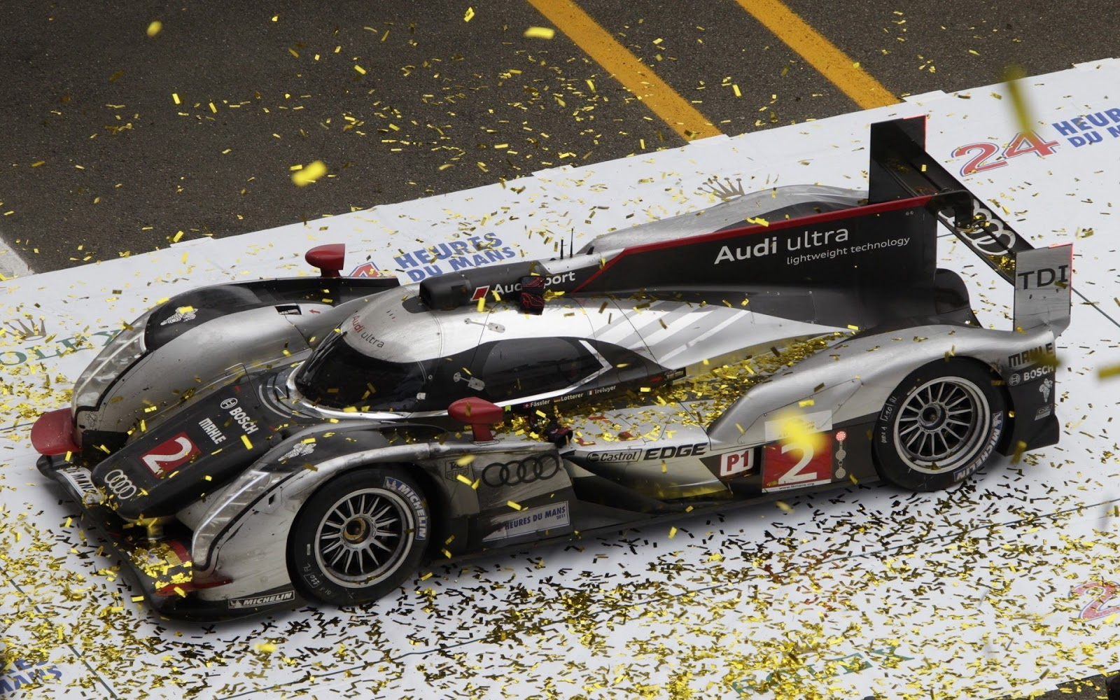 Audi Ultra R18 TDI Le Mans
