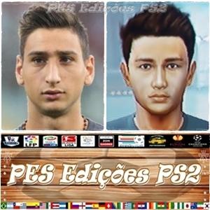 Gianluigi Donnarumma (Milan) e Itália PES PS2