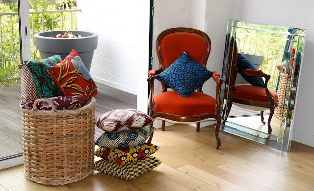 le pagne, tissu africain, tenue africaine, le wax, décoration