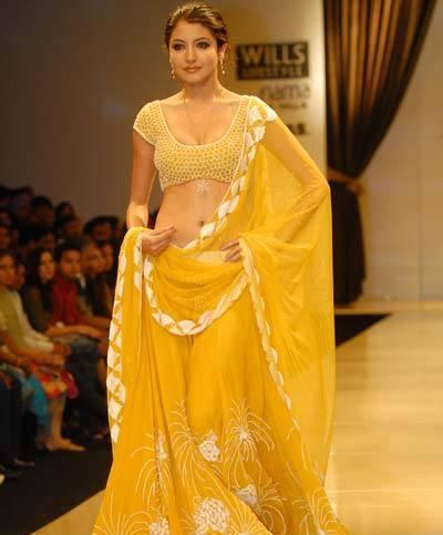 Anushka Sharma Saree