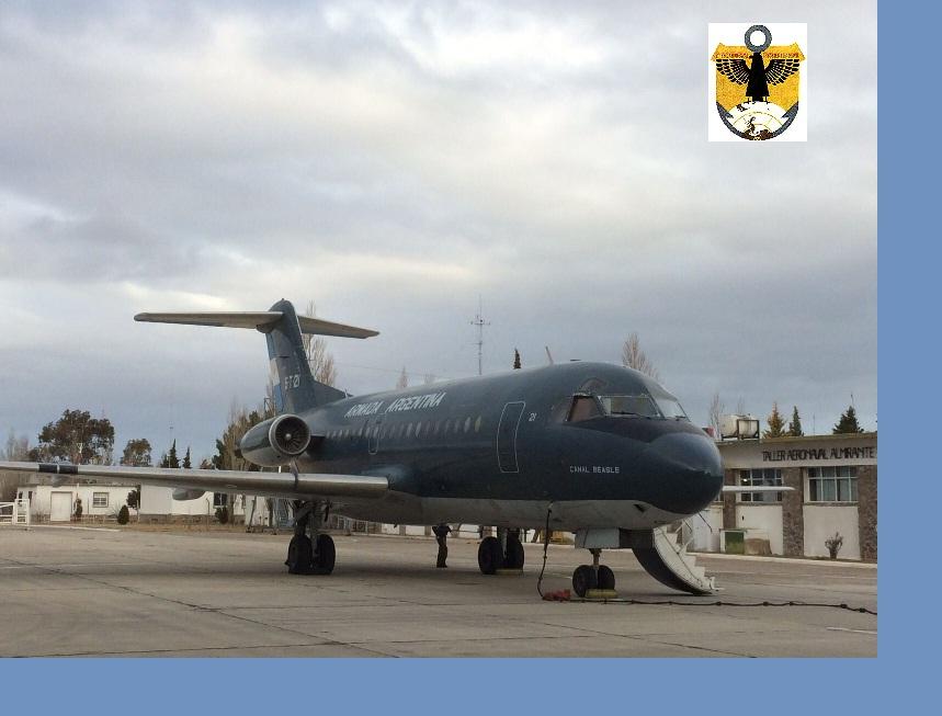 Escuadrilla Aeronaval de Sostén Logístico Móvil en BAAZ