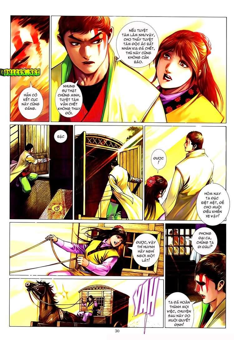 Phong Vân chap 633 Trang 28 - Mangak.info
