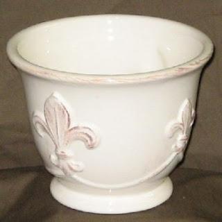Order Fleur-de-lis Ceramic Design Bowls