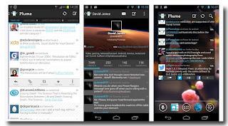 Aplikasi Twitter Untuk Android - Plume