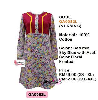 T-Shirt-Muslimah-Qaseh-QA0082L