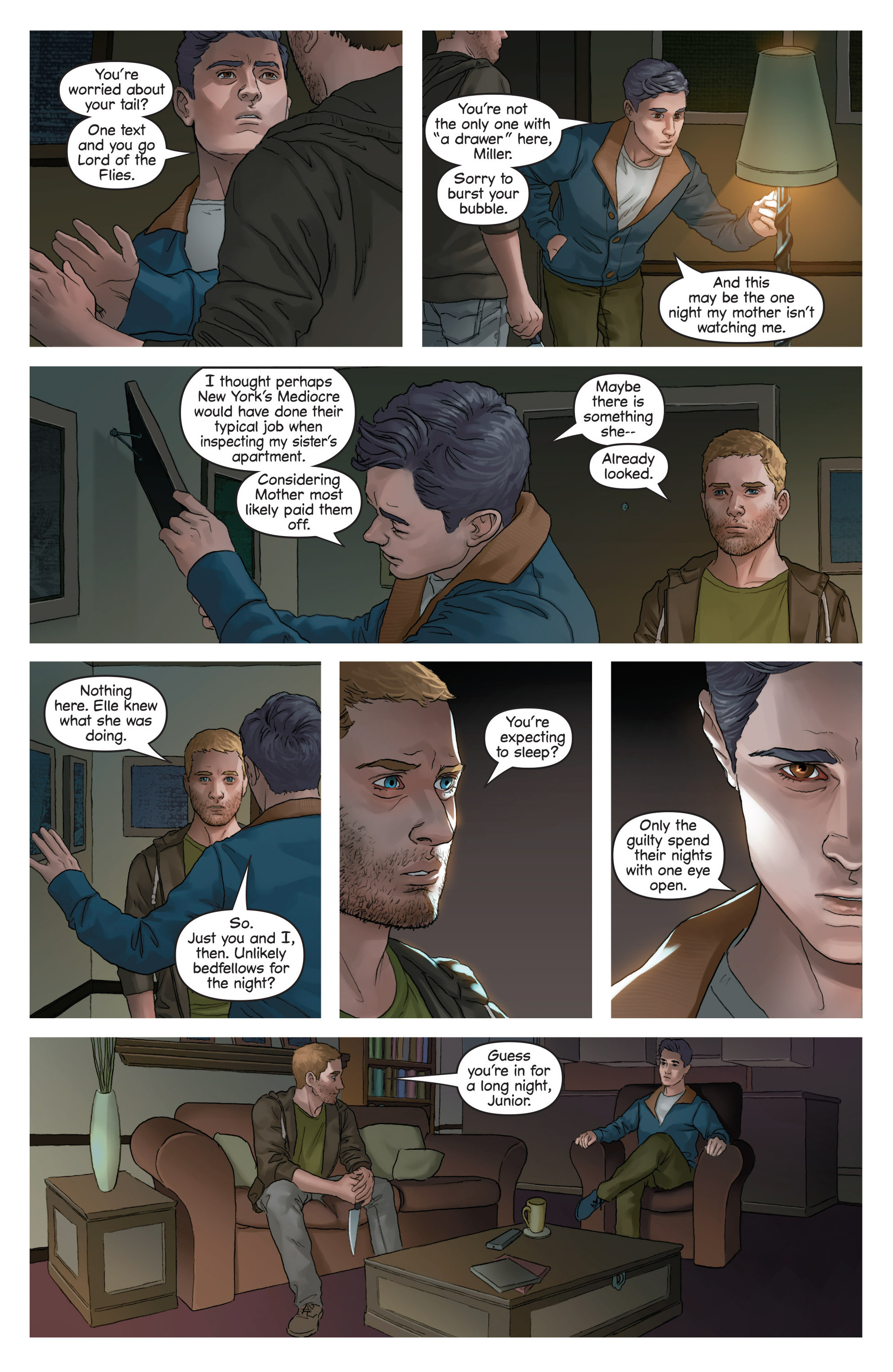 Read online Mind The Gap comic -  Issue #17 - 21