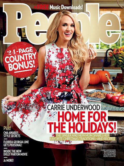 Singer, Reality TV, American Idol, @ Carrie Underwood - People USA, December 2015
