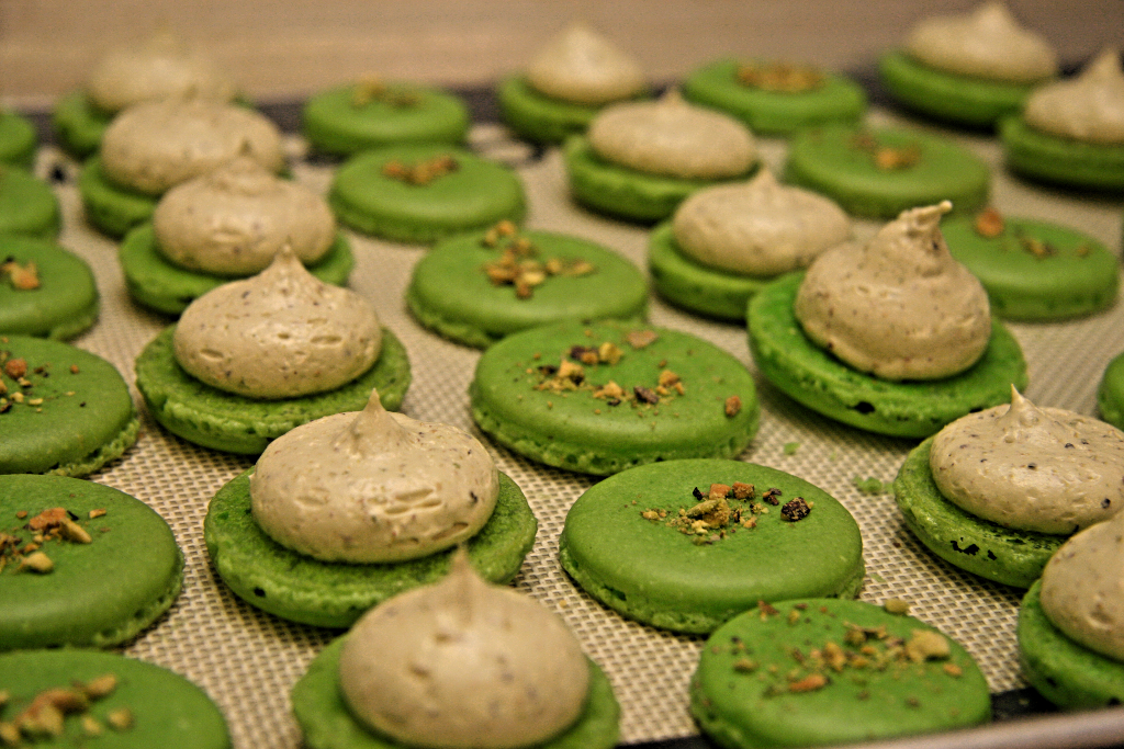 Beyond Umami: Step By Step Salted Pistachio Macarons Recipe