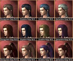 şaman saç stilleri metin2
