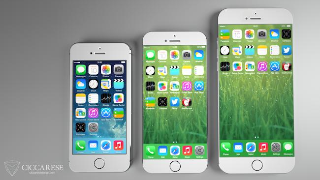 iPhone 6 + iPhone 5s