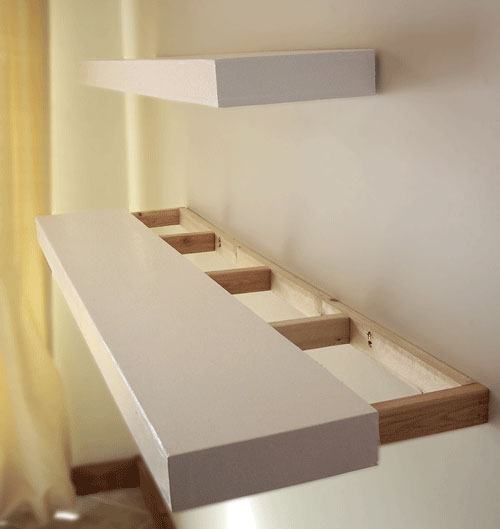 Build Floating Shelves