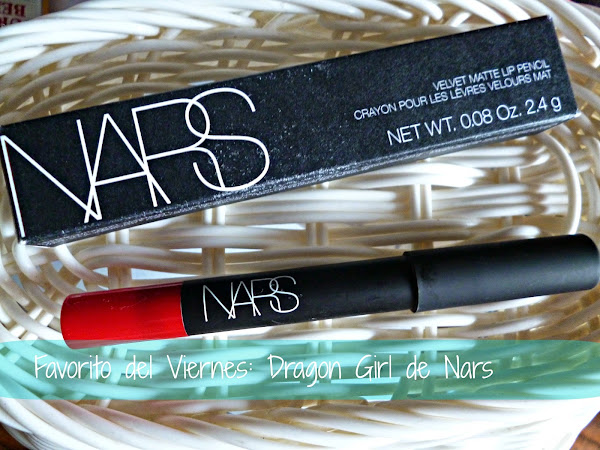 Favorito del Viernes: Dragon Girl / velvet matte lip pencil de Nars