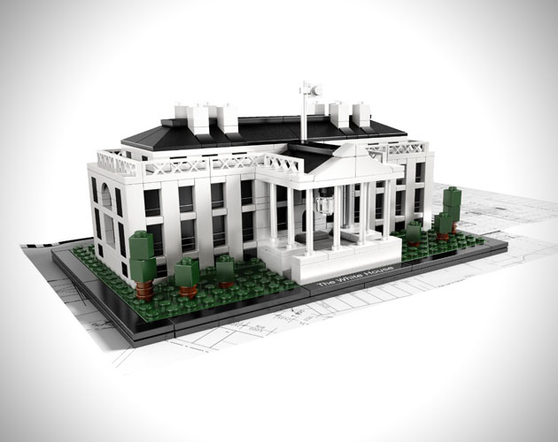 Lego Architecture White House1