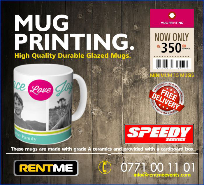 High Quality Mug Printing. 350/= upwards with the box. 15 pcs minimum order. Free delivery. From the manufacturers of Holms-Flames products. Durable, water proof print.