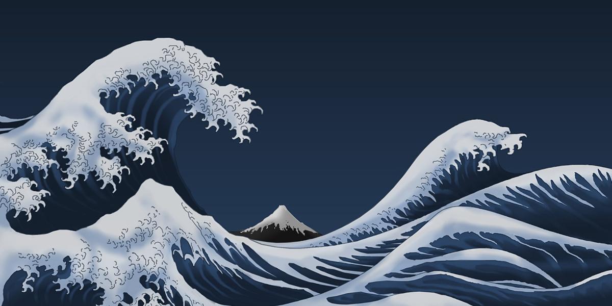 Japan Paintings l 300+ Muhteşem HD Twitter Kapak Fotoğrafları