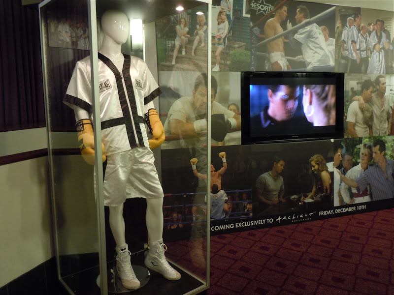 The Fighter movie costume display