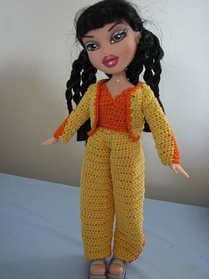 12 Crochet Doll Clothes Pattern The Blouse