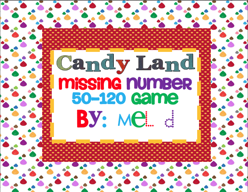 http://www.teacherspayteachers.com/Product/Candy-Land-Missing-Number-50-120-Game-Common-Core-237641