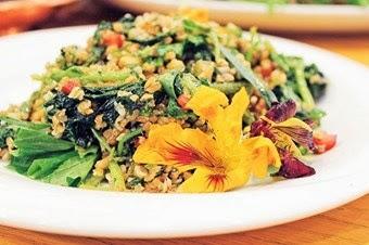 Otlu Bahar Salatası Tarifi