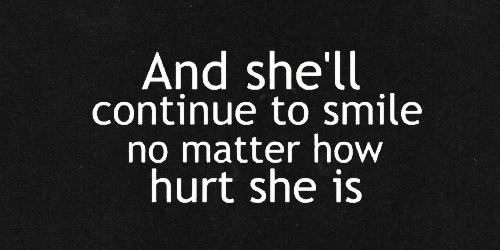 behind her smile quotes