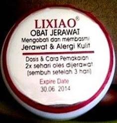Lixiao Obat Jerawat