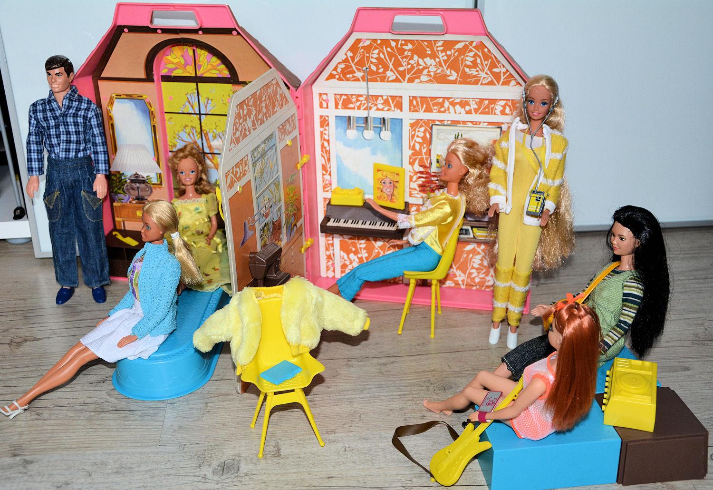 Marimissb maisons pliantes doll 39 s houses - Maison pliante ...