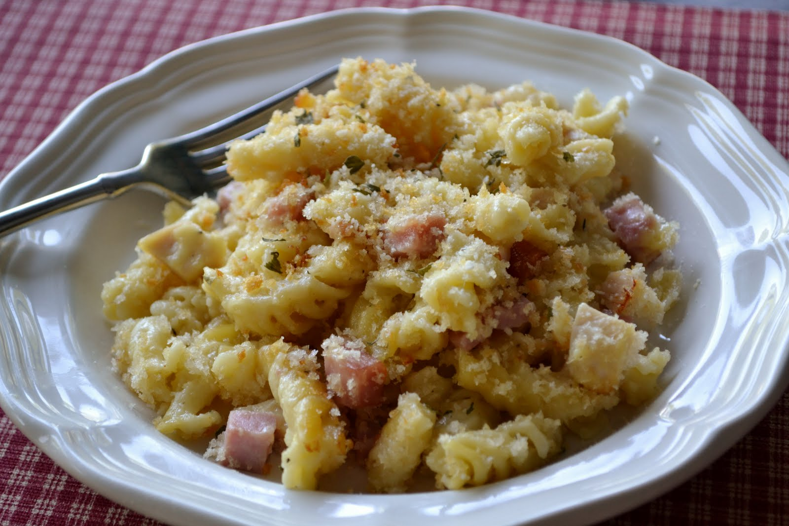 Creamy Dijon Chicken And Thyme Pasta Bake Recipe — Dishmaps