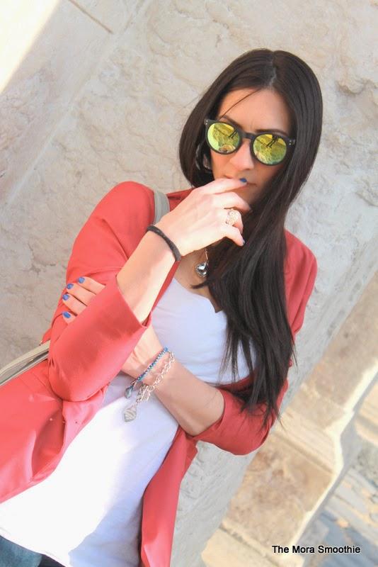 fashionblog, fashionblogger, zanellato, zanellato bag, zanellato borsa, postina bag, postina bag zanellato, tiffany, bershka, jacket, jacket bershka, diy bracelet, bracelet