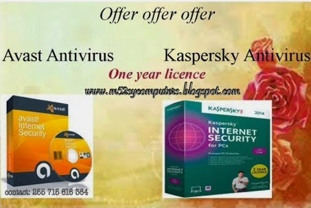 OFFER OFFER ANTIVIRUS ONE YEAR
