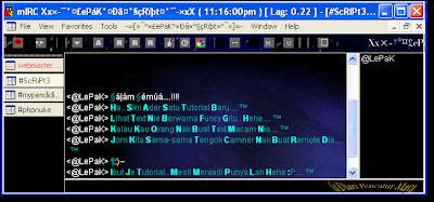 DwiKlik Untuk Lihat Paparan Sebenar Chat