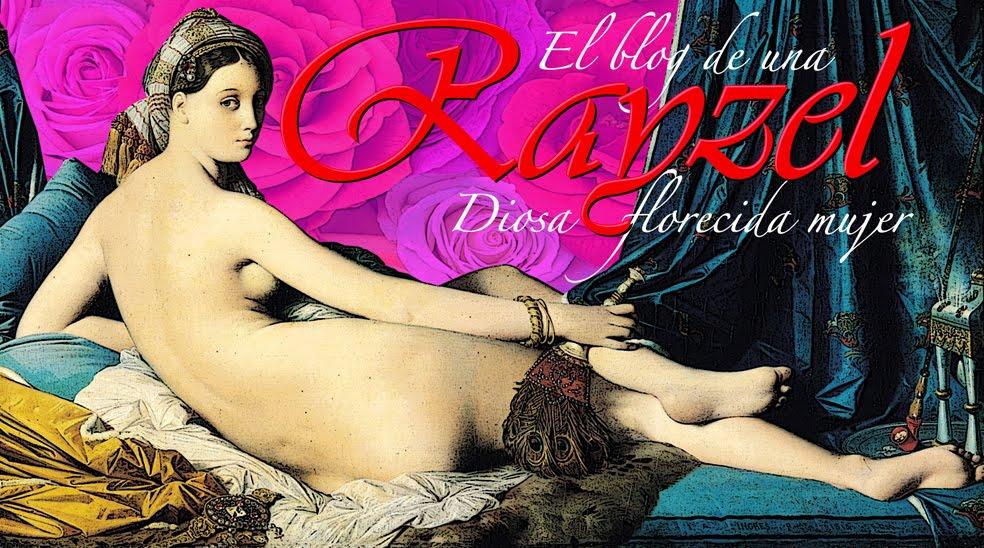 Rayzel, la Diosa florecida mujer