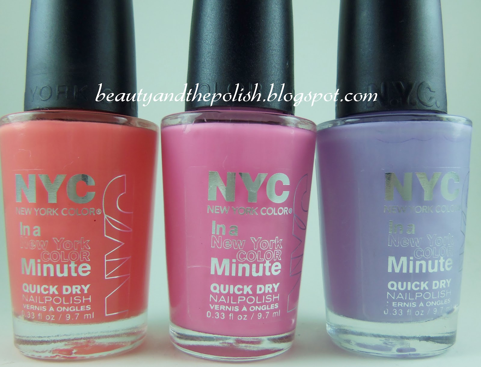 Beauty and the Polish: NYC City Sweets nail polish swatches