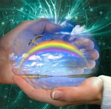 Curcubeul este legatura dintre cer si pamant