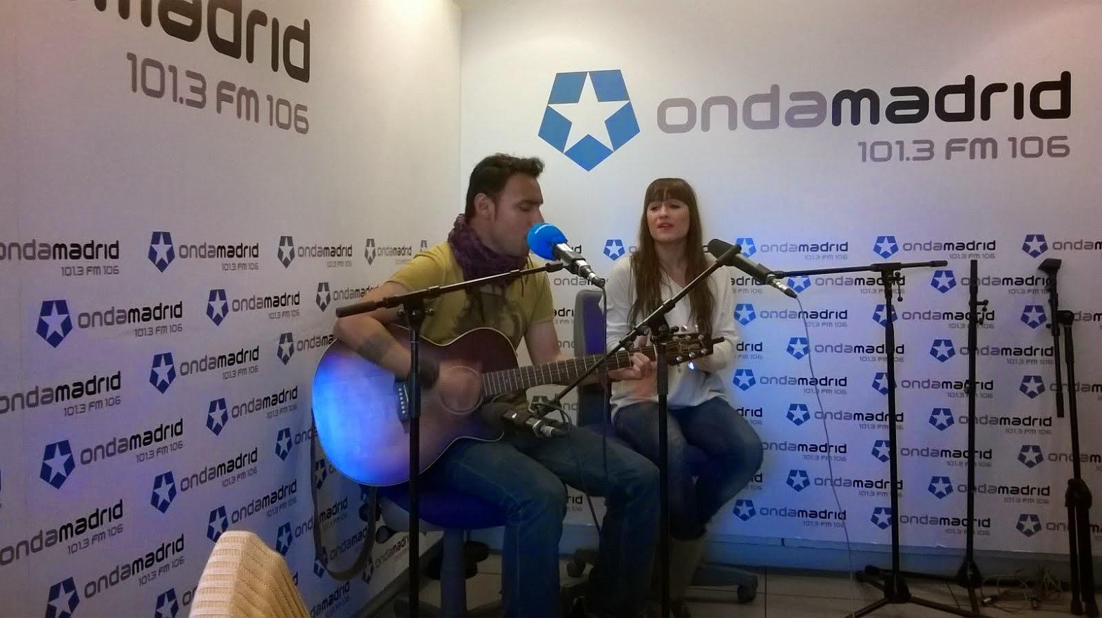 En Onda Madrid, con Lonch y Célia Dávila.