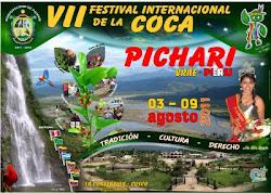 PICHARI SE PREPARA PARA EL VII FESTIVAL INTERNACIONAL DE LA COCA