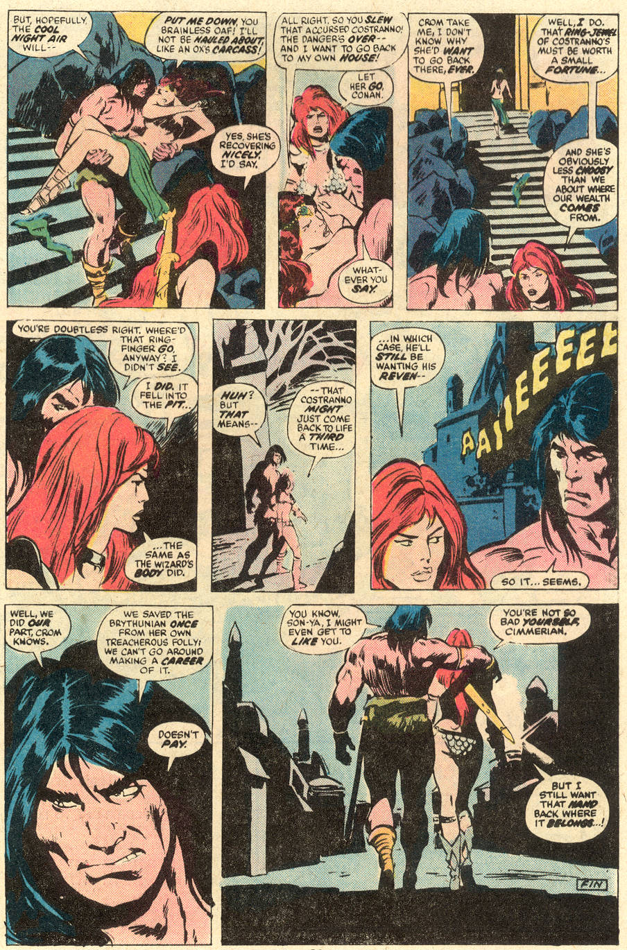 Conan the Barbarian (1970) Issue #78 #90 - English 18