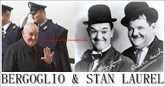 Bergoglio e Stan Laurel