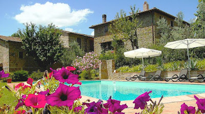 Poggio all'Olmo holiday rental apartments near Greve in Chianti