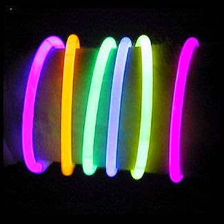 "8"" LumiStick Brand Glowsticks Glow Stick Bracelets Mixed Colors"