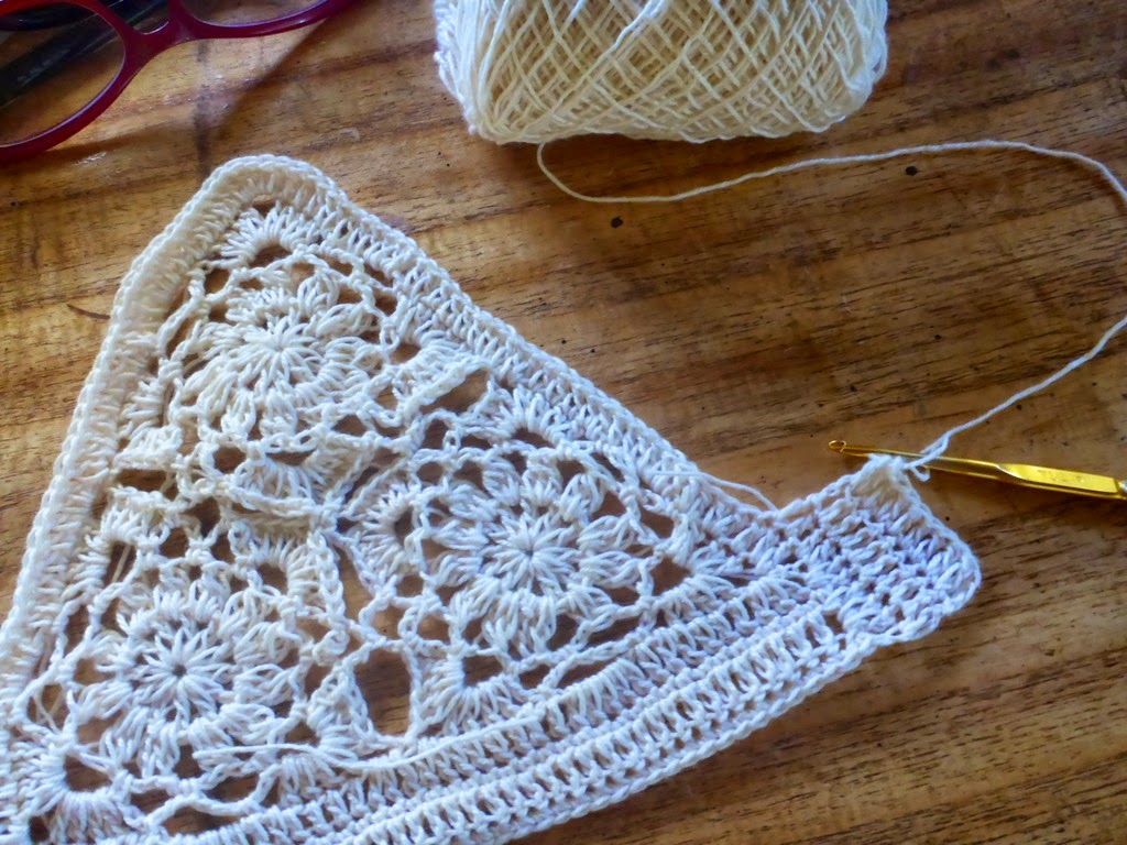 Crochetology By Fatima Layering Lace Cropped Cami And Bralette