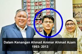 AHMAD AMMAR AHMAD AZAM DALAM KENANGAN