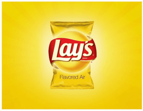 Lays flavored air