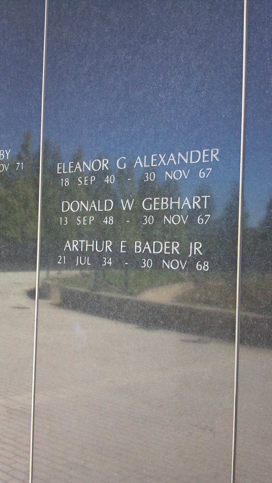 NJ Vietnam Veterans Wall Captain Eleanor Alexander