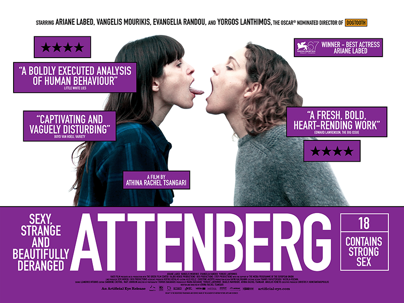 101) Attenberg (2010) Dir: Athina Rachel Tsangari Date Released: March 9, ...