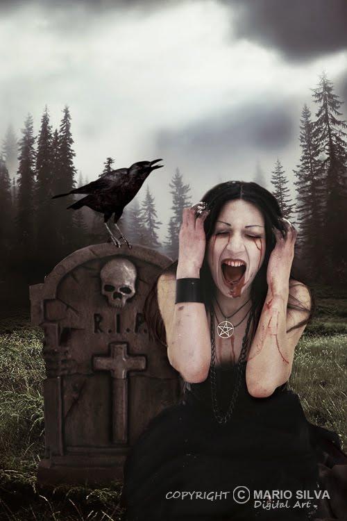 raven scream